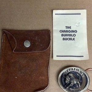 Other - The charging Buffalo belt buckle